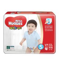 HUGGIES 好奇 男宝宝成长裤 XL33片*3