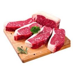ABERDEEN BLACK 西冷牛排1kg(5片)+ 京觅澳洲ABERDEEN BLACK 西冷牛排200g*2