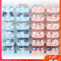 海兴透明鞋盒鞋塑料球鞋长靴鞋柜大鞋盒子组合抽屉式翻盖透明鞋盒