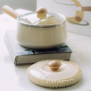 树可 明玉搪瓷锅