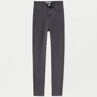 PULL&BEAR09684309 女士高腰显瘦牛仔裤