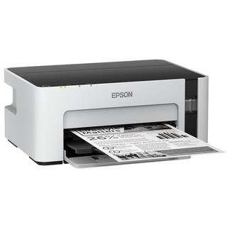 EPSON 爱普生 M1129 黑白商用无线打印机 白色
