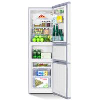 TCL 201升三开门电冰箱家用