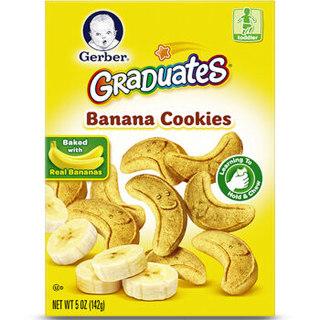 Gerber 嘉宝 香蕉磨牙饼干 142g 4段 *5件
