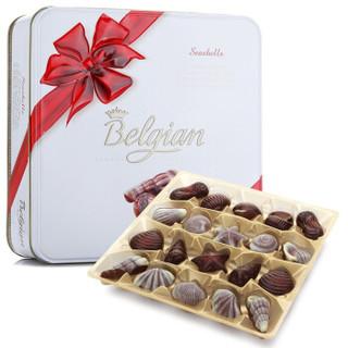 Belgian 白丽人 贝壳巧克力礼盒 比利时进口 500g *2件 +凑单品