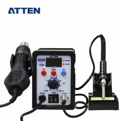 安泰信热风枪电烙铁 二合一焊台  热风拆焊 恒温可调节手机维修工具 AT8586