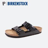 BIRKENSTOCK软木拖鞋男女同款ins潮流休闲凉拖双扣平底外穿沙滩鞋