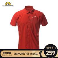 LASPORTIVA 拉思珀蒂瓦 男款速干衬衫 快干短袖Chrono Shirt J38