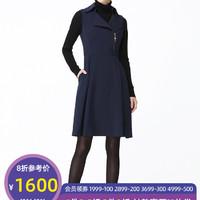 PORTS宝姿女装秋季新款收腰修身无袖连衣裙ALA9D008NWB011