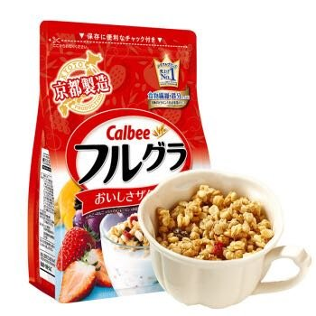 Calbee 卡乐比 水果麦片 700g +凑单品