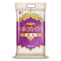 香满园  泰清香 茉莉香米 大米 5kg 籼米 长粒米 *2件