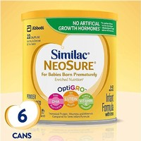 Similac NeoSure 雅培  早产儿配方奶粉 6罐装 371g*6