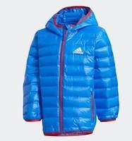 12號:adidas 阿迪達斯 GC9258 兒童連帽羽絨服