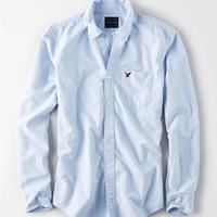 AMERICAN EAGLE 5153_1376 男士牛津布长袖衬衫