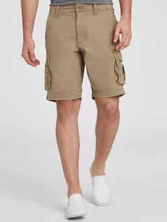 OLD NAVY 392846 男士做旧工装风短裤 *2件