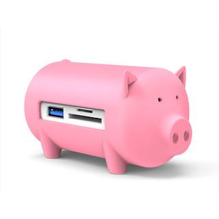 ORICO 奥睿科 USB3.0高速分线器+SD/TF读卡器