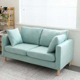 Mian 眠度 小户型布艺沙发 双人位 125cm