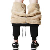 宝斯雷迪羊羔绒加厚男士休闲裤