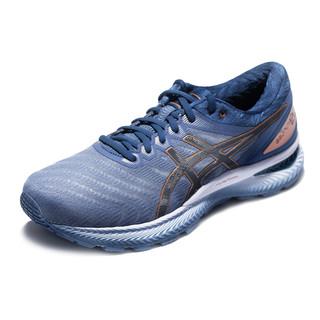 ASICS 亚瑟士 1011A680 GEL-NIMBUS 22 跑鞋 灰蓝色 L