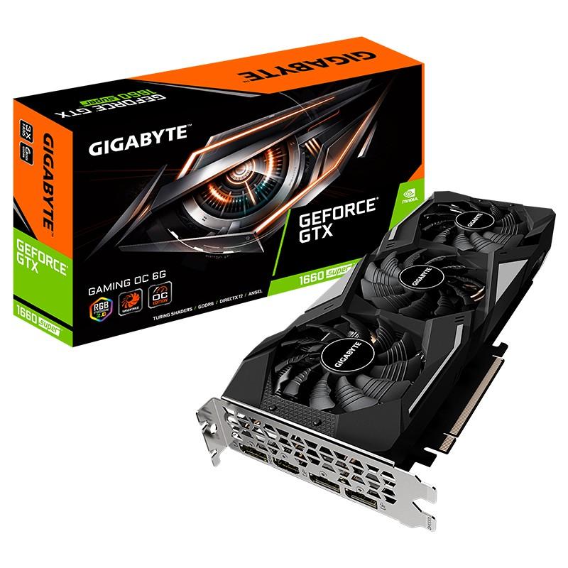 GIGABYTE 技嘉 GeForce GTX 1660 SUPER GAMING OC 显卡 6GB