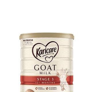 Karicare 可瑞康婴幼儿羊奶粉 3段 900g 6罐装