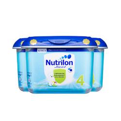 Nutrilon 诺优能 婴幼儿配方奶粉 4段 800g*3罐 *3件