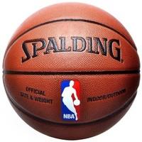 SPALDING 斯伯丁 74-602Y 彩色运球人 标准比赛篮球 *2件
