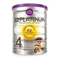历史低价 : a2 澳洲艾尔 Platinum 白金版 婴幼儿奶粉 4段  900g *6件