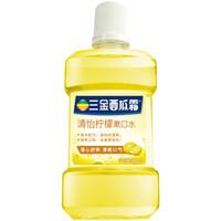 三金 西瓜霜漱口水 清怡柠檬 500ml *8件