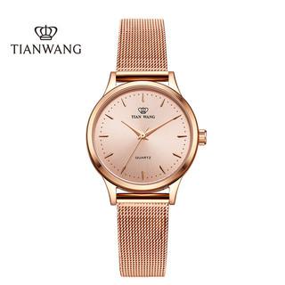 天王表手表 女时尚潮流简约女表细带防水石英表精致小米带女士手表LS3998
