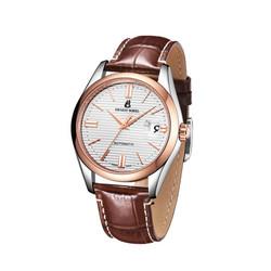 依波路 瑞士腕表 豪爽系列 复古咖皮带款 机械手表/男表/瑞表 E0701G0B-MN2L
