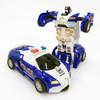 麦酷迪 变形玩具金刚5 汽车机器人 蓝色警车随机1只装