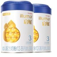 Wyeth 惠氏 启赋  婴儿奶粉 3段 900g 2罐装 *2件