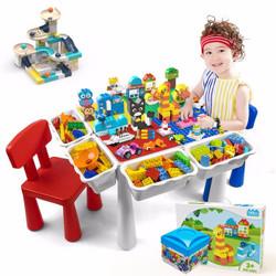万高(Wangao)积木桌子 可增高送玩具