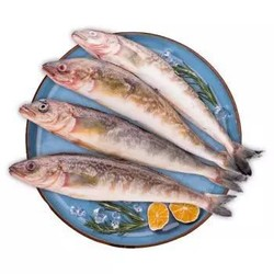禧美 冷冻北海道野生深海黄鱼 1.2kg