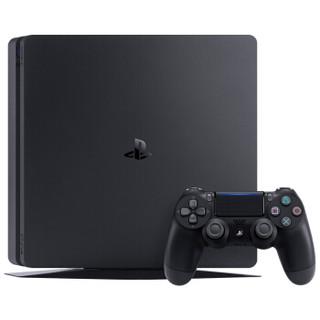 SONY 索尼 PlayStation 4 (PS4) Slim游戏机 (500GB、黑色)