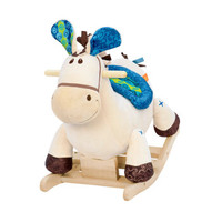 B.Toys 比乐 儿童摇摇马 木质毛绒摇椅 +凑单品
