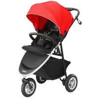 Aprica 阿普丽佳 Smooove 高景观三轮婴儿推车 红色