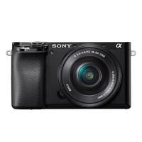 SONY 索尼 Alpha系列 Alpha 6100L APS-C画幅微单数码相机 标准套机 16-50mm 黑色