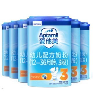 88VIP : Aptamil 爱他美幼儿配方奶粉 3段  *6件