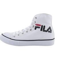 FILA 斐乐 CLASSIC KICKS LETTERING MID FS1SIA3014X 男女中性帆布鞋