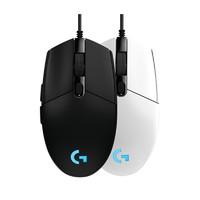 罗技G102有线电竞游戏鼠标RGB光台式电脑笔记本鼠标 黑色