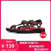 Skechers斯凯奇男童凉鞋夏魔术贴轻便运动鞋92218L. 92218L/BGRD