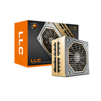 COUGAR 骨伽 LLC 750W 电脑电源 金牌(90%)750W 全模组化