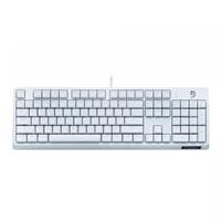Fühlen 富勒 G900S 机械键盘 Cherry樱桃轴游戏键盘  104全尺寸可选背光 白色纯享版(PBT键帽无背光)