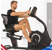 美国SUNNY 家用静音电磁控卧式健身车