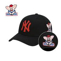 MLB 美职棒 纽约扬基NY本命猪年纪念鸭舌帽lucky pig *2件