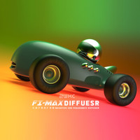 misida 美仕达 F1 MAX空气净化器 松石绿