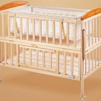 小龙哈彼 LMY288-N150 实木婴儿床