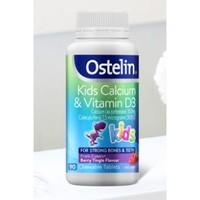 Ostelin/奥斯特林 儿童维生素D3+钙咀嚼片 90片/罐 *2件